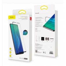 Baseus 0.15mm Full-Screen Curved Anti-Explosion Silicone Screen Protector for Galaxy S10 (2 pieces)