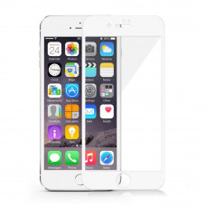 Apple iPhone 7/8 Plus Tempered Glass Screen Protector 10D White