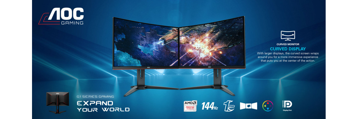 AOC gaming monitors