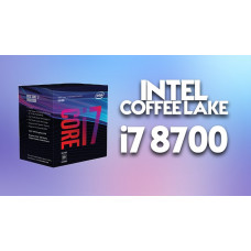 INTEL CORE i7 8700 6 Cores/12 Threads  3.20 GHz Socket 1151